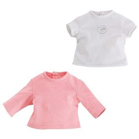 SET T-SHIRT - ROSA E BIANCA